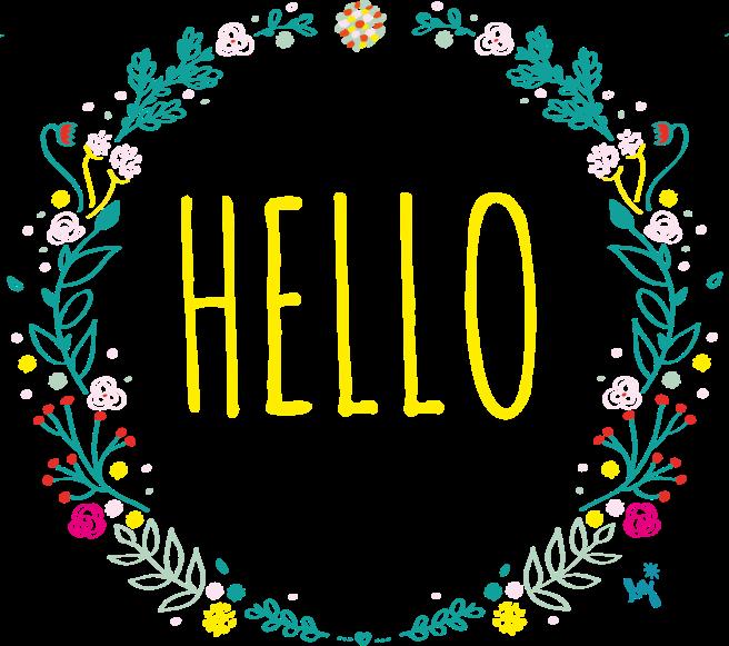 sticker-couronne-fleurs-hello